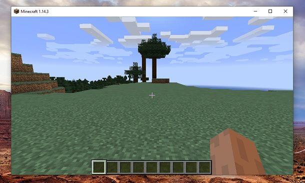 Blocchi liberi Minecraft