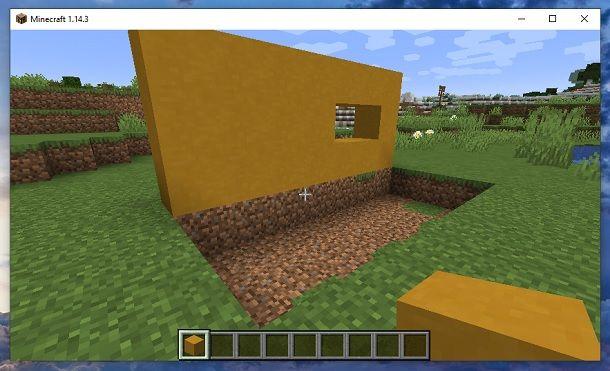 Buca Minecraft