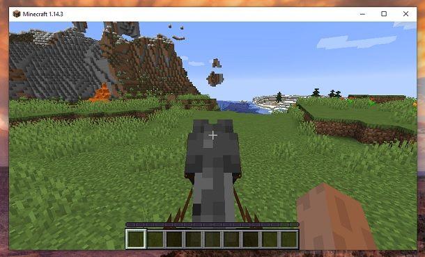 Cavalca cavallo Minecraft
