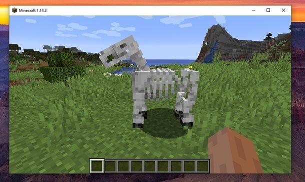 Cavallo scheletro Minecraft