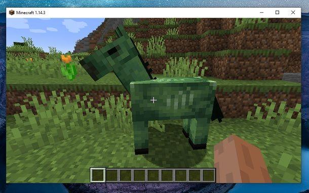 Cavallo zombie Minecraft