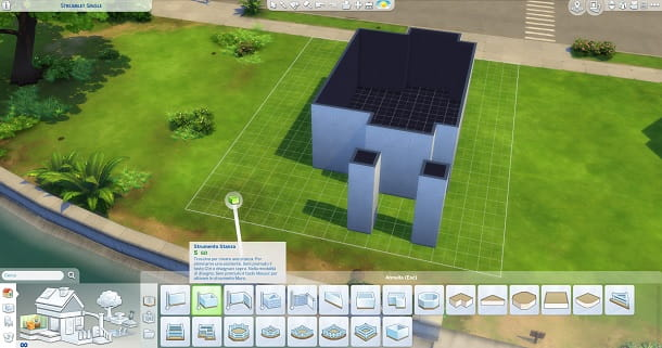 Colonne The Sims 4
