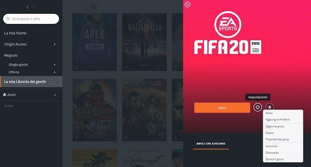 Come aggiornare FIFA su PC