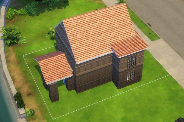 Come costruire una casa a due piani su The Sims 4