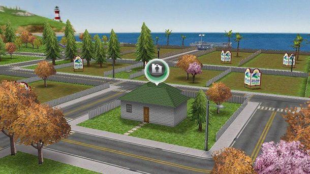 Come costruire una casa su The Sims FreePlay