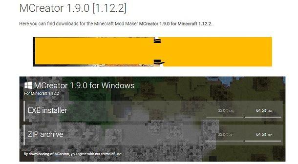 Come installare MCreator su Windows