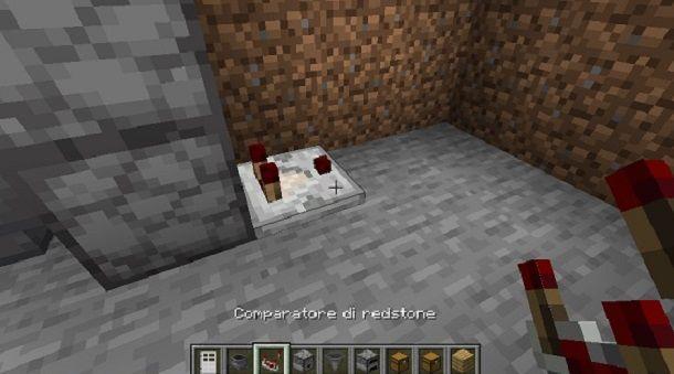 Comparatore di redstone Minecraft