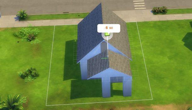 Copri buco davanti dietro The Sims 4