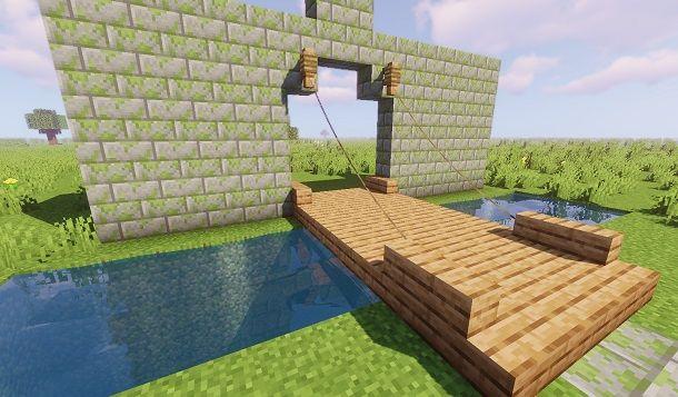 Costruire un ponte levatoio realistico