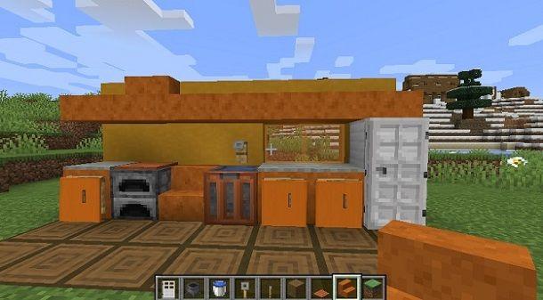 Cucina Minecraft
