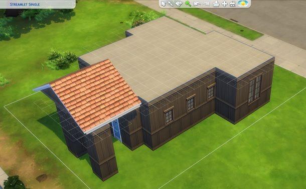 Demolisci tetti posteriori The Sims 4