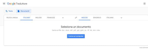 Come funziona Google Translate per PC