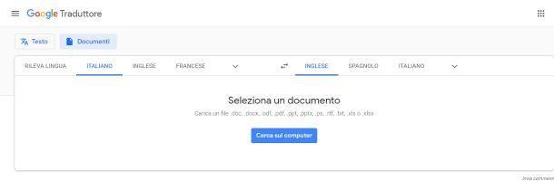 Come funziona Google Translate per PC