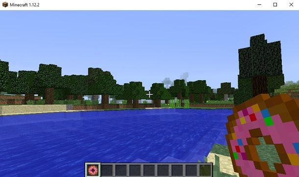 Donut Minecraft