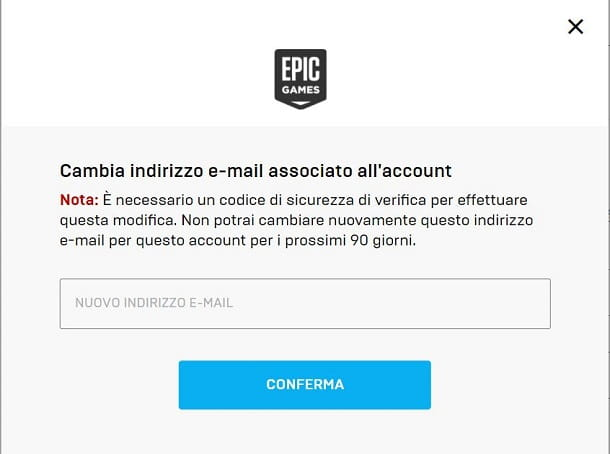 Email Fortnite