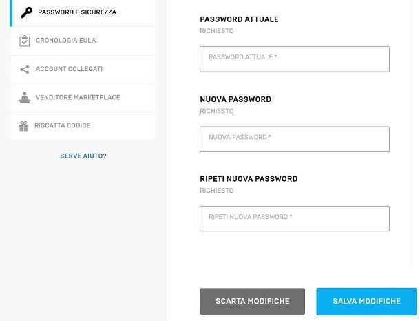 Password Fortnite