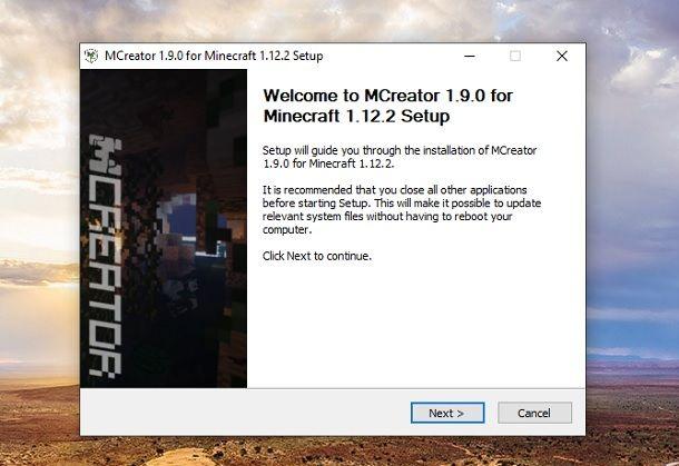 Installer MCreator