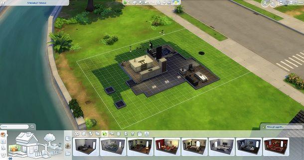 Interni casa The Sims 4