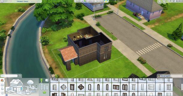 Interni e finestre The Sims 4
