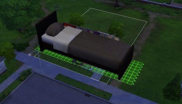 Letto grande The Sims 4