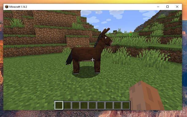 Mulo Minecraft