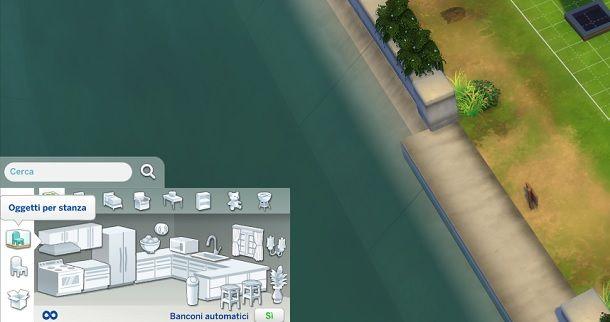 Oggetti per stanza The Sims 4