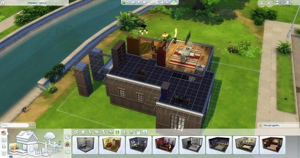 Piano superiore interni The Sims 4