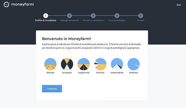 Profilo Investitore Moneyfarm