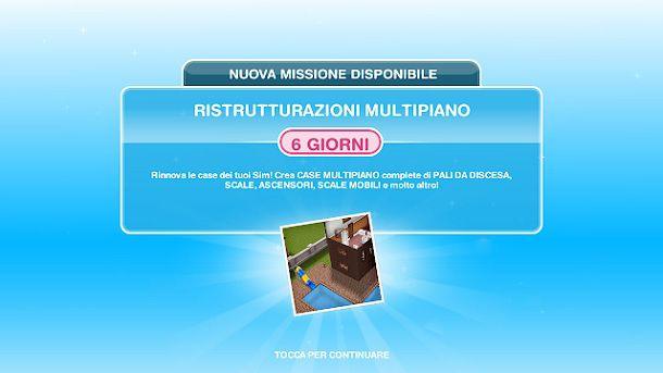 Ristrutturazioni multipiano The Sims FreePlay
