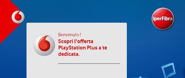 Come riscattare codice PlayStation Plus Vodafone
