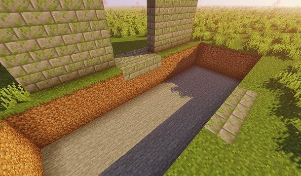 Scavare un fossato
