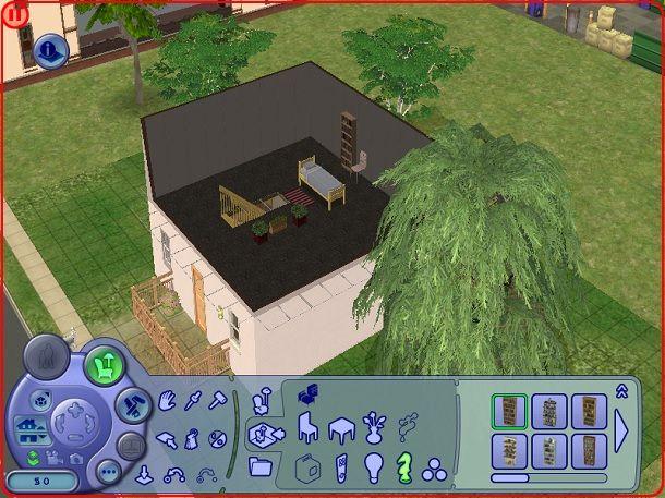 Secondo piano interni The Sims 2