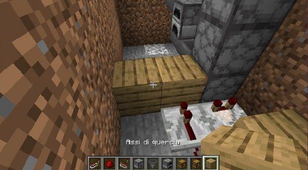 Separazione quercia Minecraft