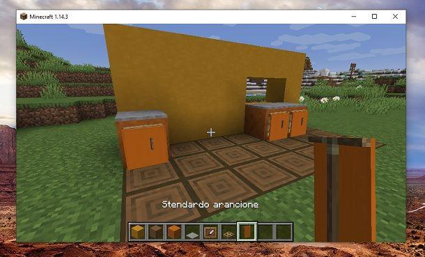 Stendardi Minecraft