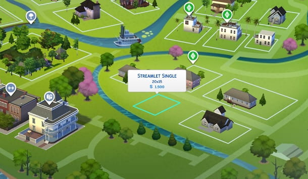 Streamlet Single The Sims 4