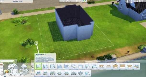 Strumento Muro The Sims 4