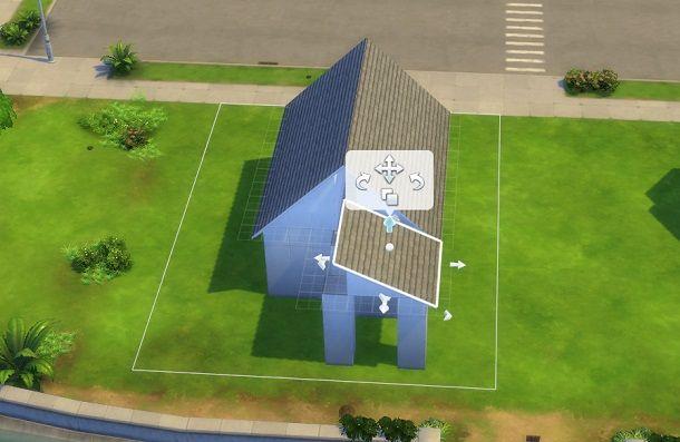 Tetto davanti The Sims 4