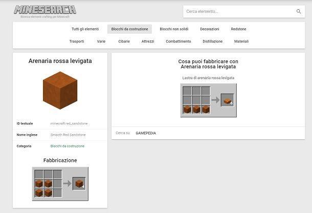 Tool materiali Minecraft