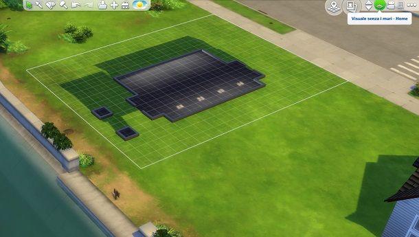 Visuale senza muri The Sims 4