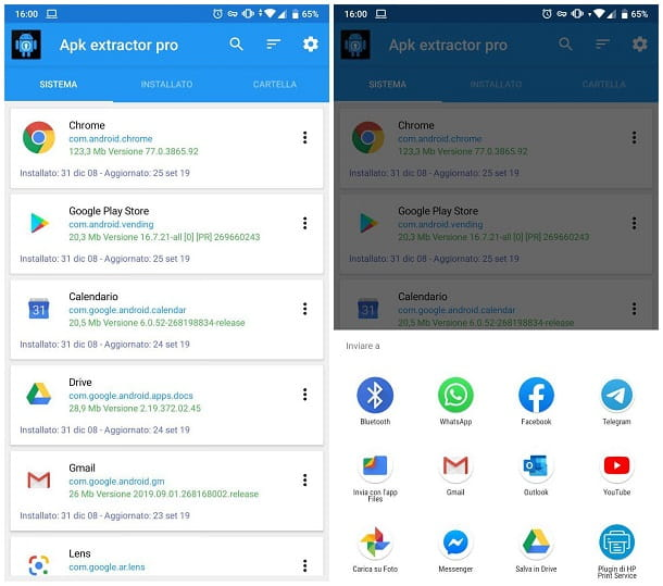 Come trasferire una app con Bluetooth su Android