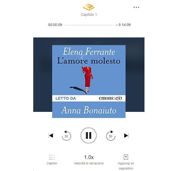Come ascoltare audiolibri