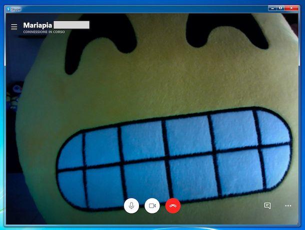 Videochiamta Skype