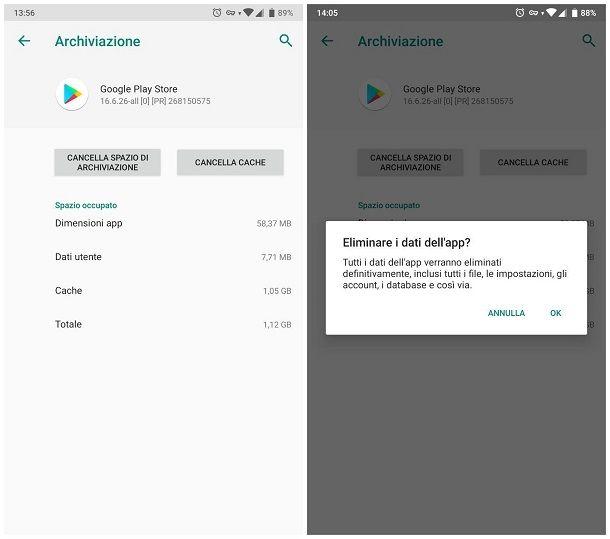 Come ripristinare Play Store su Android