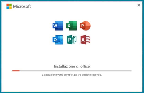 Office 365 installazione Windows