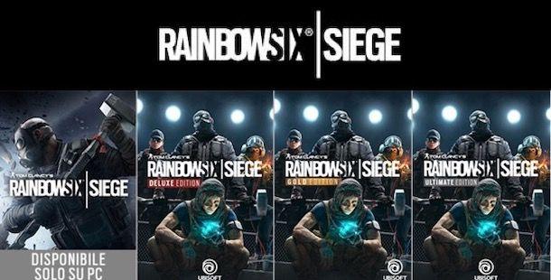 Edizioni di Rainbow Six Siege