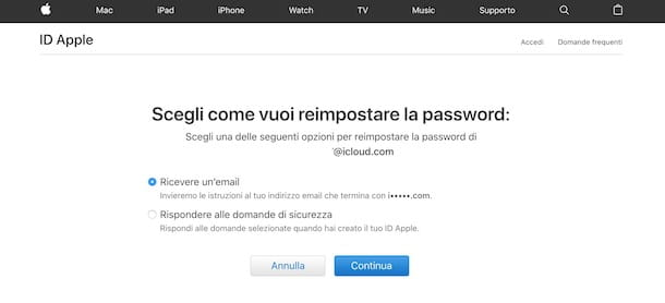 Come eliminare un ID Apple senza password