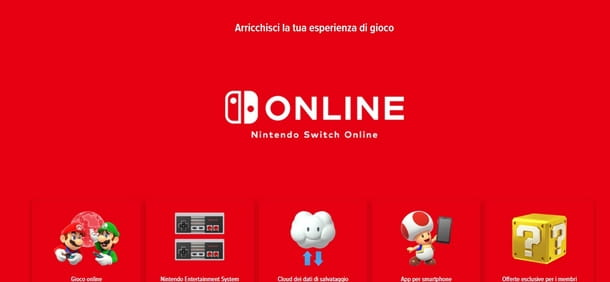 Giocare in due a Nintendo Switch Online
