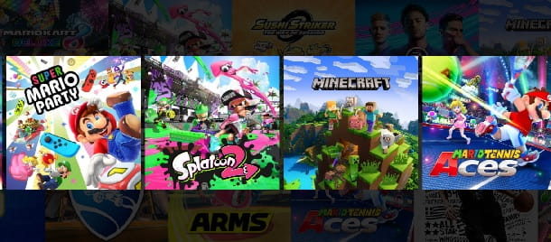 Giocare online al Nintendo Switch