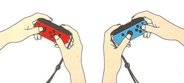Giocare in due con due Joy-Con