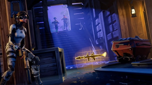 Procedere al gioco multiplayer in due a Fortnite